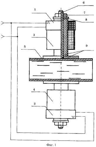 Способ защиты и очистки внутренней поверхности теплоэнергетического оборудования и труб из ферромагнитных и цветных материалов от отложений