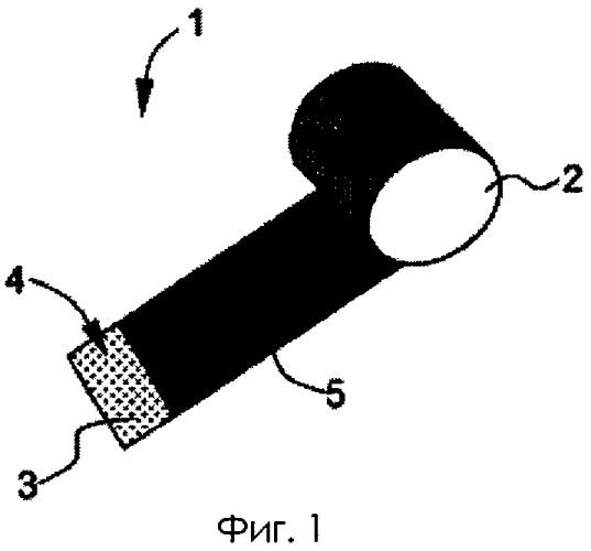 Армирующий материал для локального армирования элемента, изготовленного из композиционного материала, и способ его получения