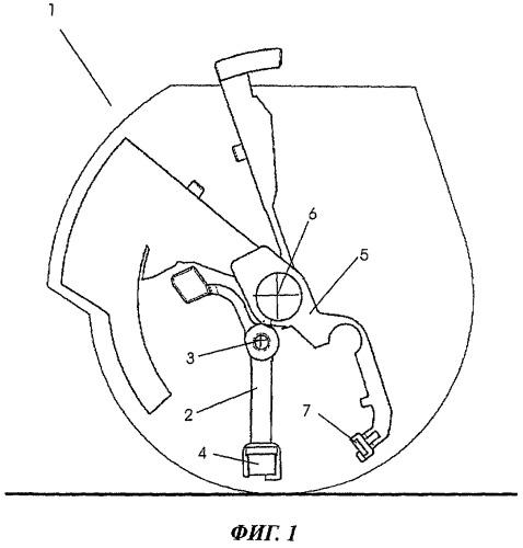 Противоугонное блокировочное устройство тележки для покупок
