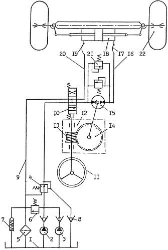 Способ гидроусиления дистанционного рулевого управления и система рулевого управления для его осуществления