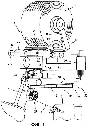 Пневматическая фильера для текстильной машины