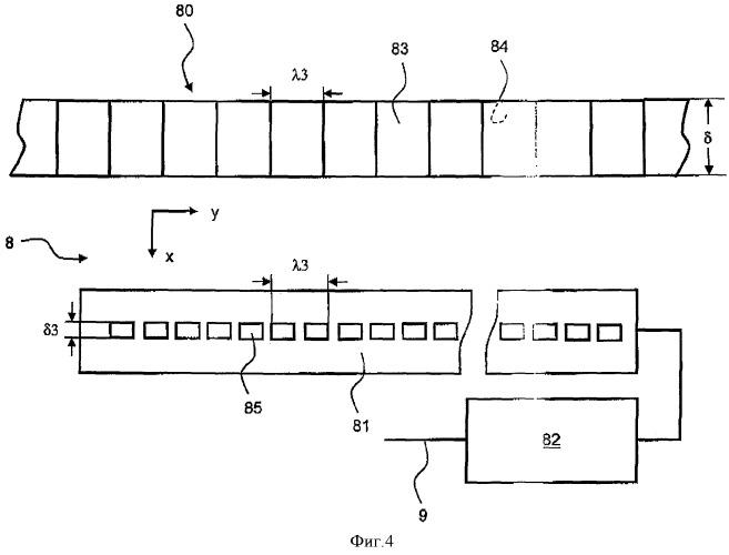 Лифт с кабиной и устройством для определения положения кабины, а также способ эксплуатации такого лифта