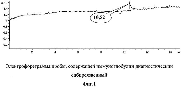 Способ комплексной иммуноэлектрофоретической идентификации споровых форм бактерий на основе капиллярного электрофореза