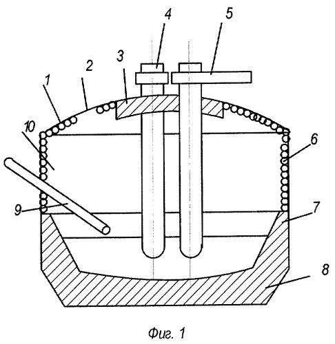 Способ плавки стали в дуговой сталеплавильной печи трехфазного тока
