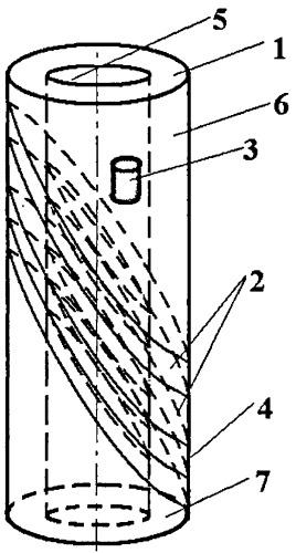 Электродуговой испаритель с составным вращающимся катодом
