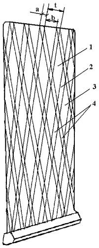 Способ формирования дискретного наплавочного покрытия на пере лопатки турбомашины