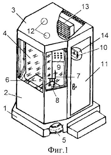 Акустическая кабина оператора компрессорной станции