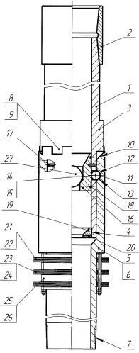Разъединительное устройство для установки хвостовика в скважине