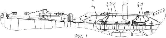 Статор компрессора газотурбинного двигателя