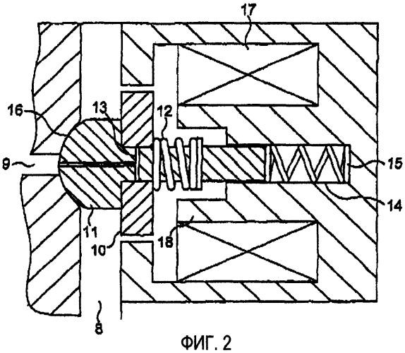 Устройство для приведения в движение текучей среды и клапанный механизм