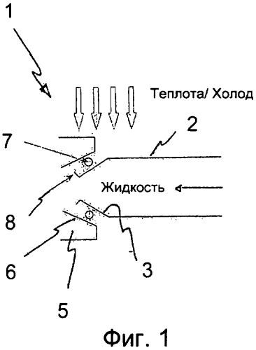 Система стыковки магистрали с потоком жидкости со стыковочным корпусом