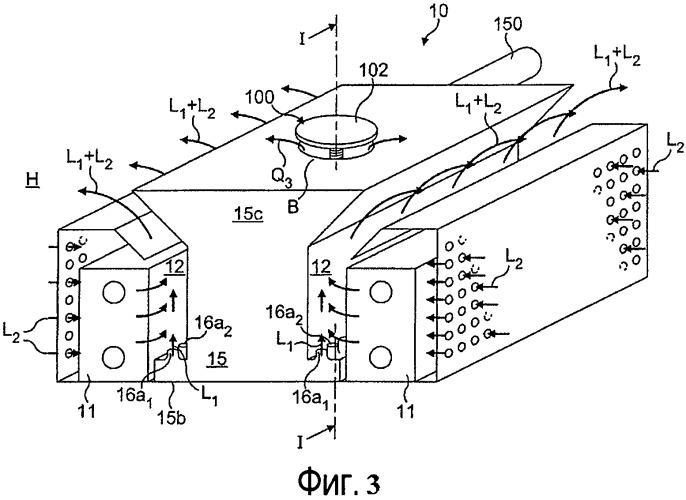 Устройство для подачи воздуха и способ регулирования скорости воздушного потока