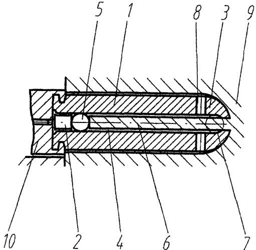 Патрон для имитации стрельбы из муляжей автоматического стрелкового оружия