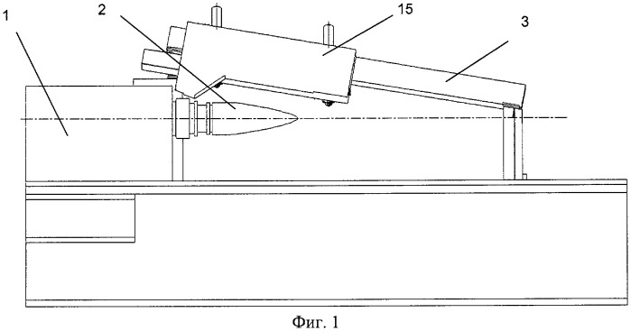 Устройство активного контроля и измерения действительных размеров наружной поверхности изделия типа оболочка вращения