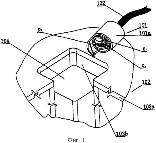 Устройство обнаружения уровня расплавленной стали с использованием электромагнитной катушки