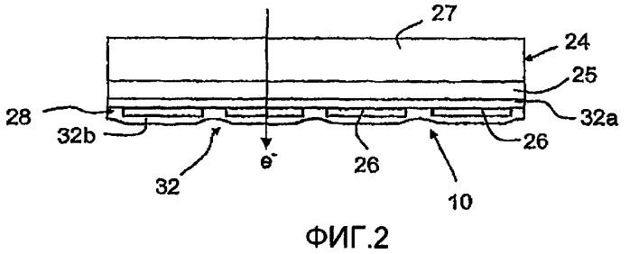 Датчик и система для измерения электронного луча
