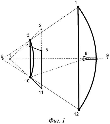 Осесимметричная двухзеркальная антенна