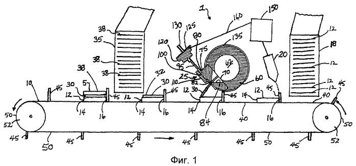 Устройство для нарезания полосок и способ изготовления слоеных выпечных изделий