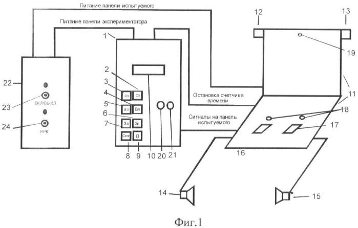 Способ изучения перцептивных звеньев в структуре функциональных систем, реализующих процессы внимания
