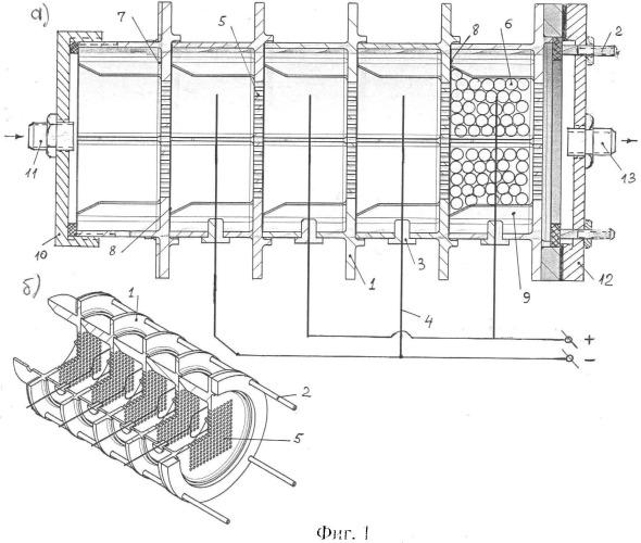 Электроочиститель модульной конструкции
