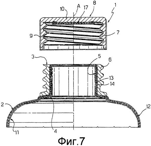 Способ производства пластиковых крышек для герметичных контейнеров для разливаемых пищевых продуктов и пластиковая крышка контейнеров, произведенная этим способом
