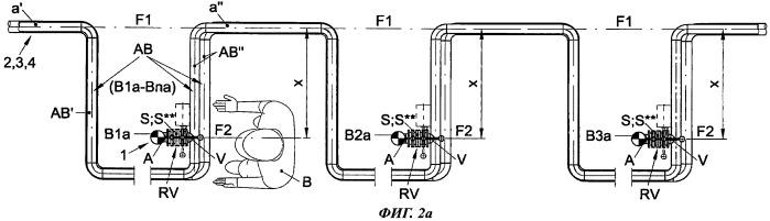 Устройство для эксплуатации резервуарных систем хранения с жесткой трубной обвязкой с системами труб для текучих сред