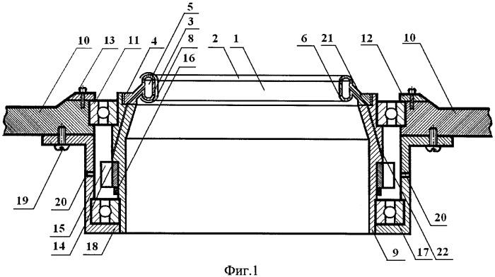 Крутильно-мотальное устройство текстильной машины