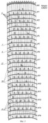 Рабочий орган роторного траншейного экскаватора