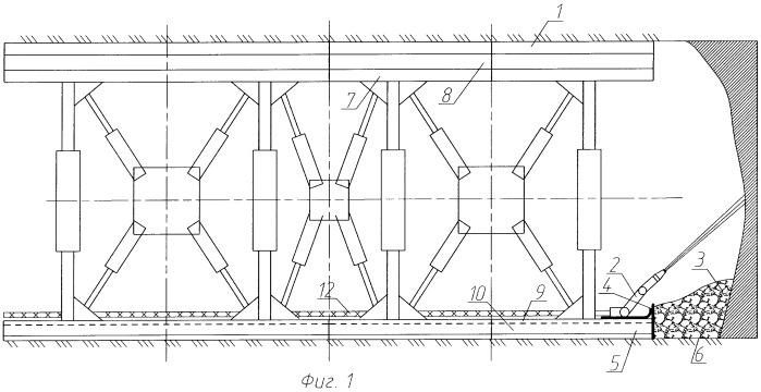 Проходческо-очистной гидравлический механизированный комплекс