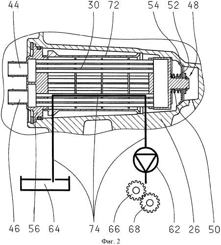 Теплообменник с встроенным перепускным клапаном