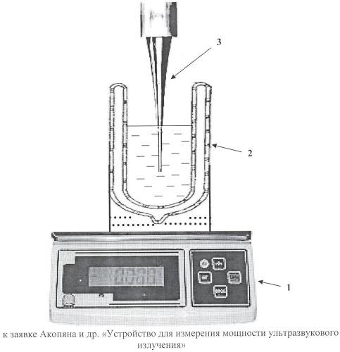 Устройство для измерения мощности ультразвукового излучения