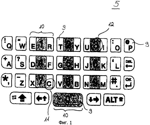 Клавиатура электронного оборудования и способ для управления клавиатурой электронного оборудования