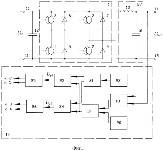 Автономный инвертор с широтно-импульсной модуляцией выходного напряжения