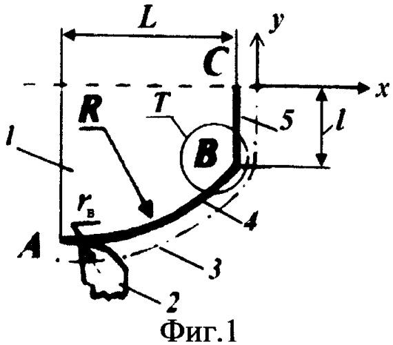 Способ обработки точением поверхностей сложного контура