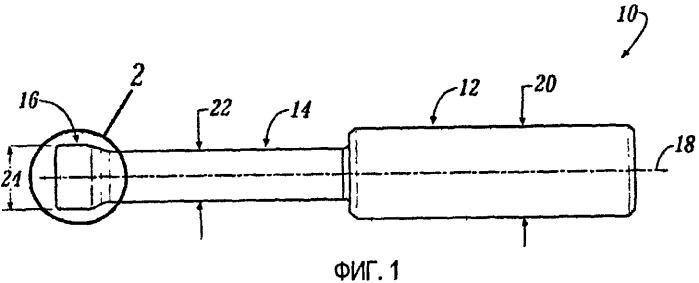 Концевая фреза для орбитального сверления материалов из армированной волокном пластмассы