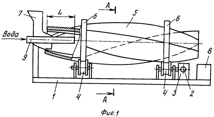 Устройство для приготовления бетонных смесей