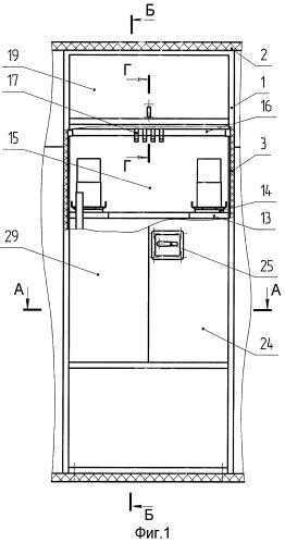 Модуль для установки и транспортирования выносного оборудования в кузове-фургоне специального транспортного средства