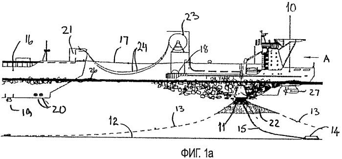 Система для загрузки и разгрузки углеводородов в водах, предрасположенных к образованию льда