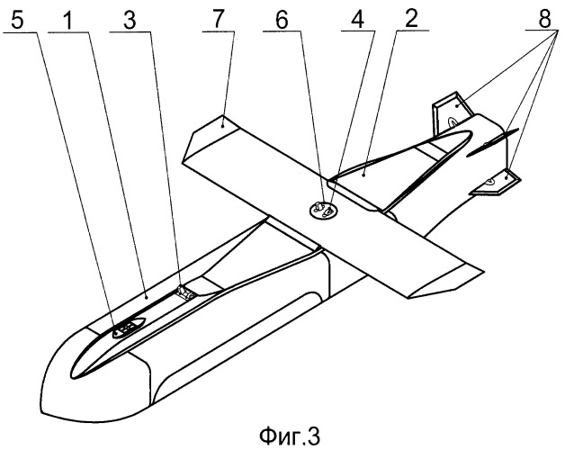 Модульный беспилотный летательный аппарат