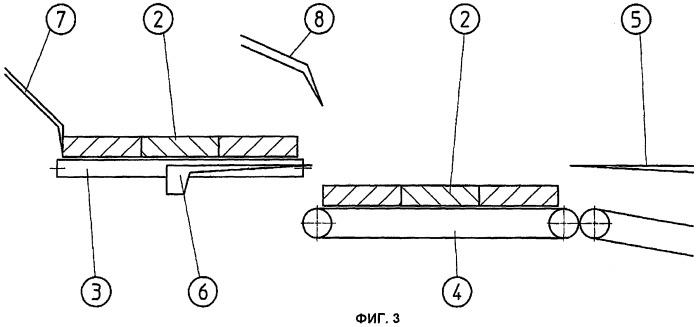 Способ и устройство для складывания в стопу плитообразных элементов