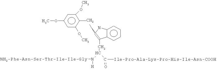 Комплементарный пептид к основному иммуногенному району рецептора ацетилхолина, терапевтическая композиция на его основе, способ изготовления пептида и его применение