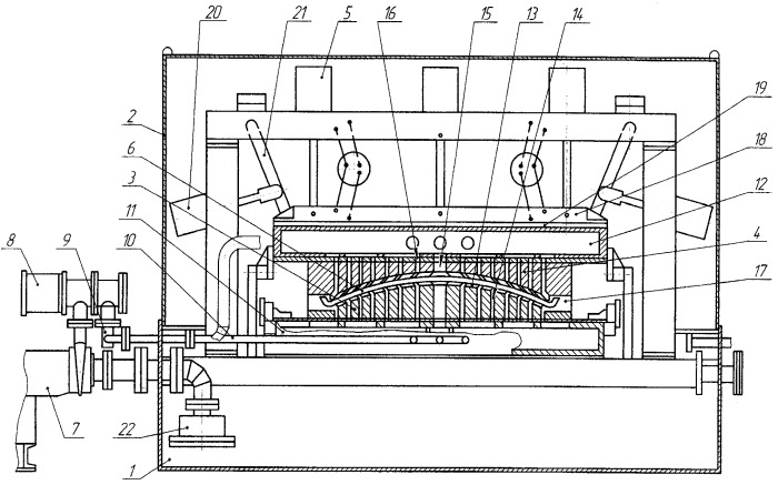 Способ гибки и объемно-поверхностной закалки рессорных листов из сталей пониженной прокаливаемости и установка для его осуществления