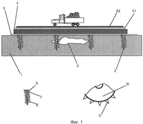 Способ ремонта и строительства магистральных дорог
