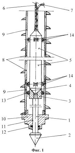 Способ ударного зондирования грунтов и устройство для его осуществления