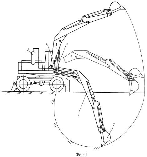 Энергосберегающее рабочее оборудование экскаватора