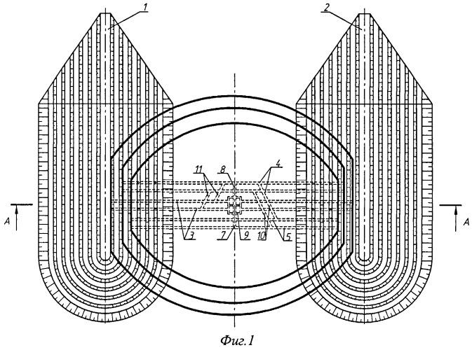 Комплексный способ разработки свит пологих пластов синклинальных и брахисинклинальных месторождений