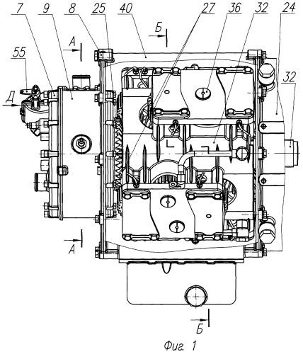 Роторная машина объемного действия