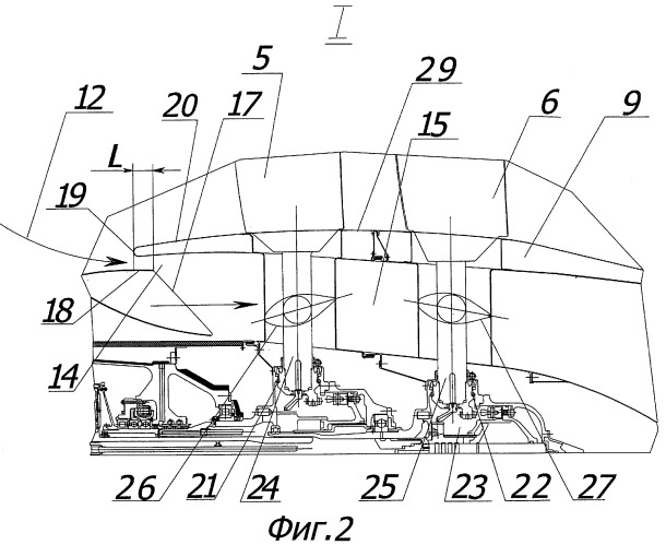 Винтовентиляторный газотурбинный двигатель
