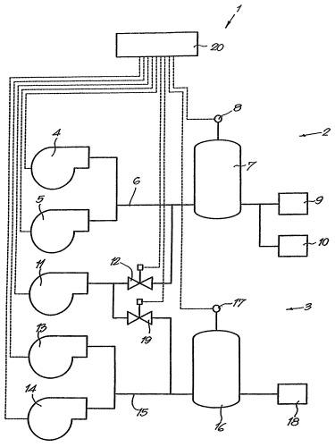 Способ управления установкой сжатого воздуха и контроллер и установка сжатого воздуха для применения такого способа