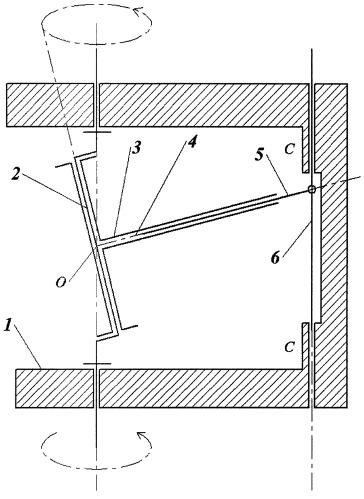 Кривошипно-штоковый механизм с качающейся шайбой